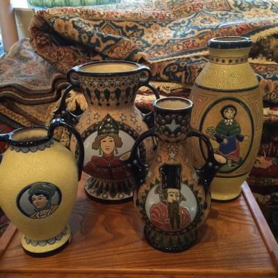 céramiques Amphora Tchécoslovaquie