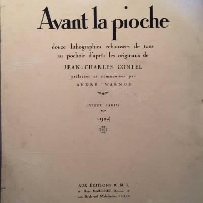 Avant la pioche / vieux Paris / Contel / Warnod