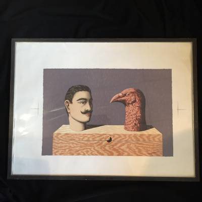 lithographie Magritte