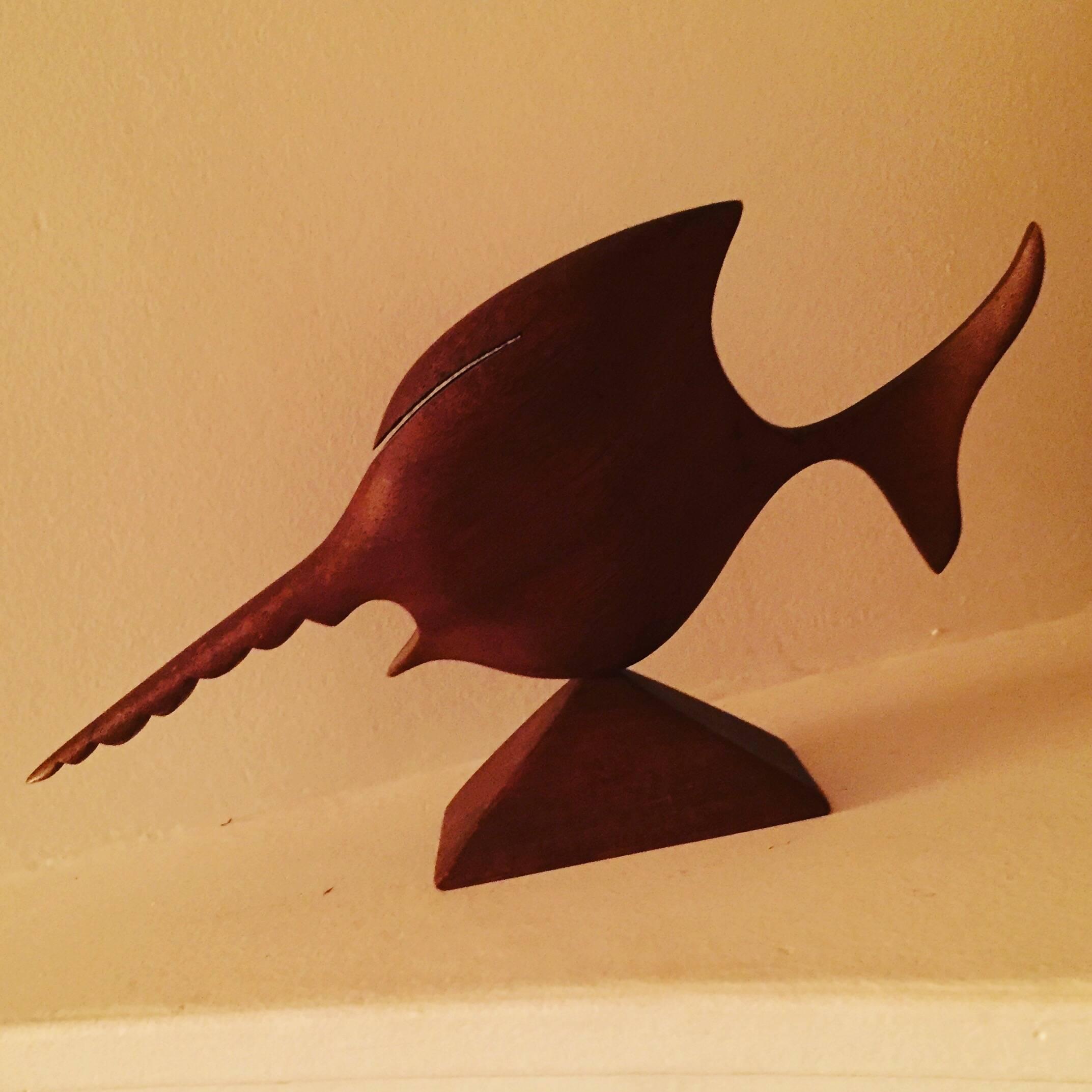 sculpture poisson