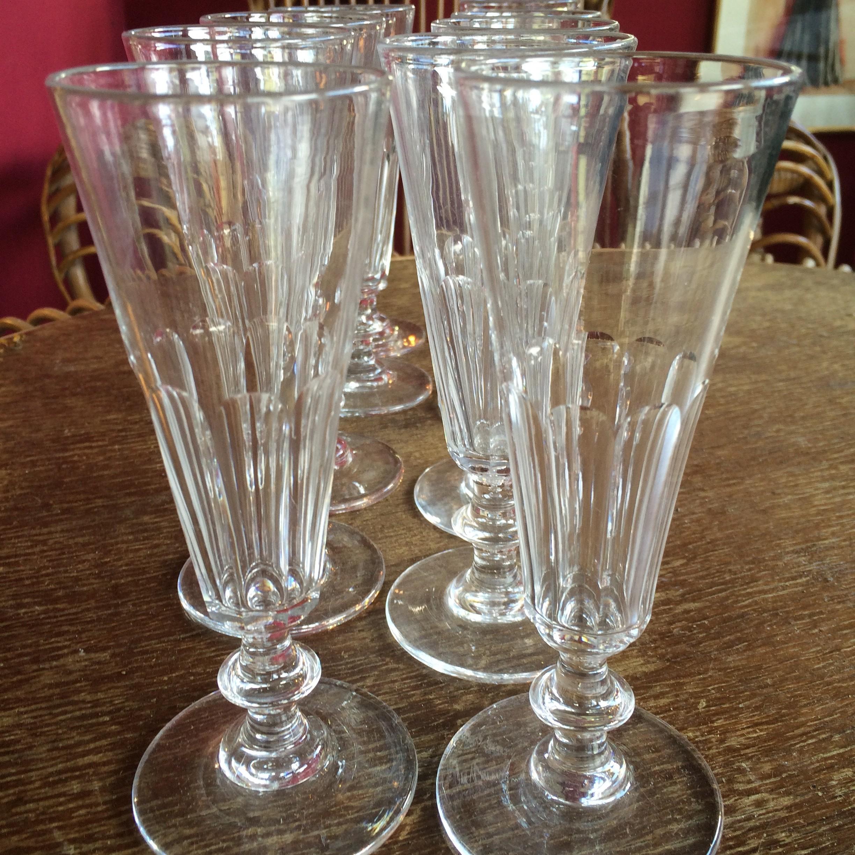 10 flutes à champagne