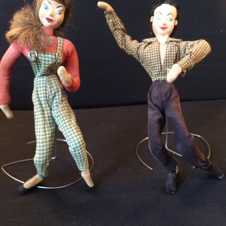 Couple danseurs années 50