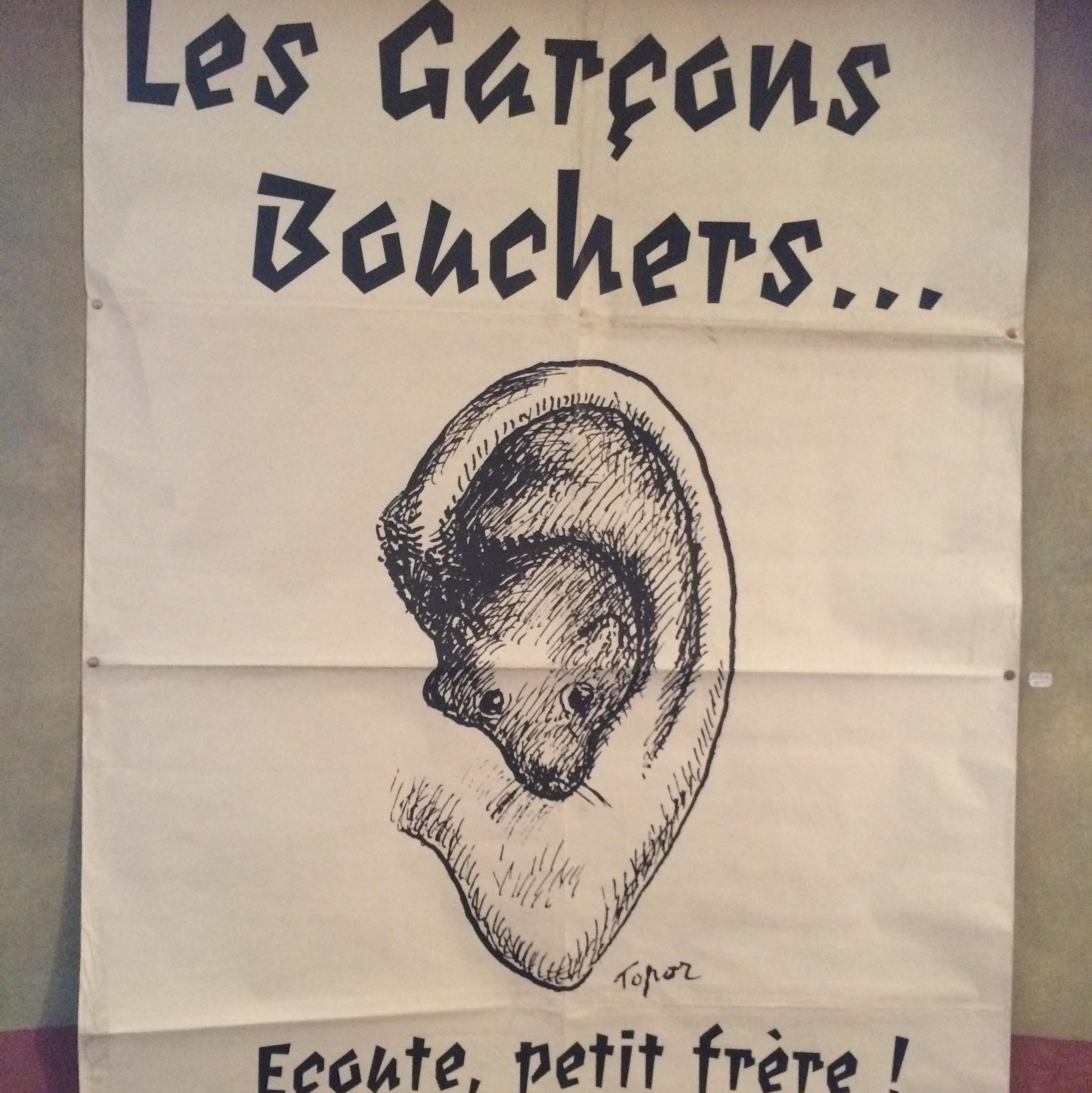 Affiche Garçons Bouchers / Topor