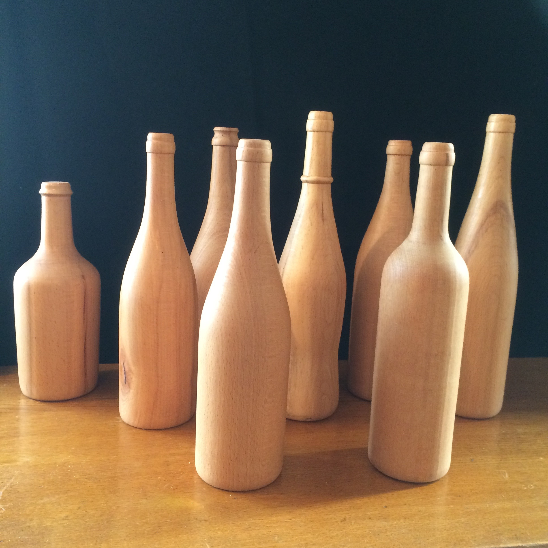 bouteilles bois