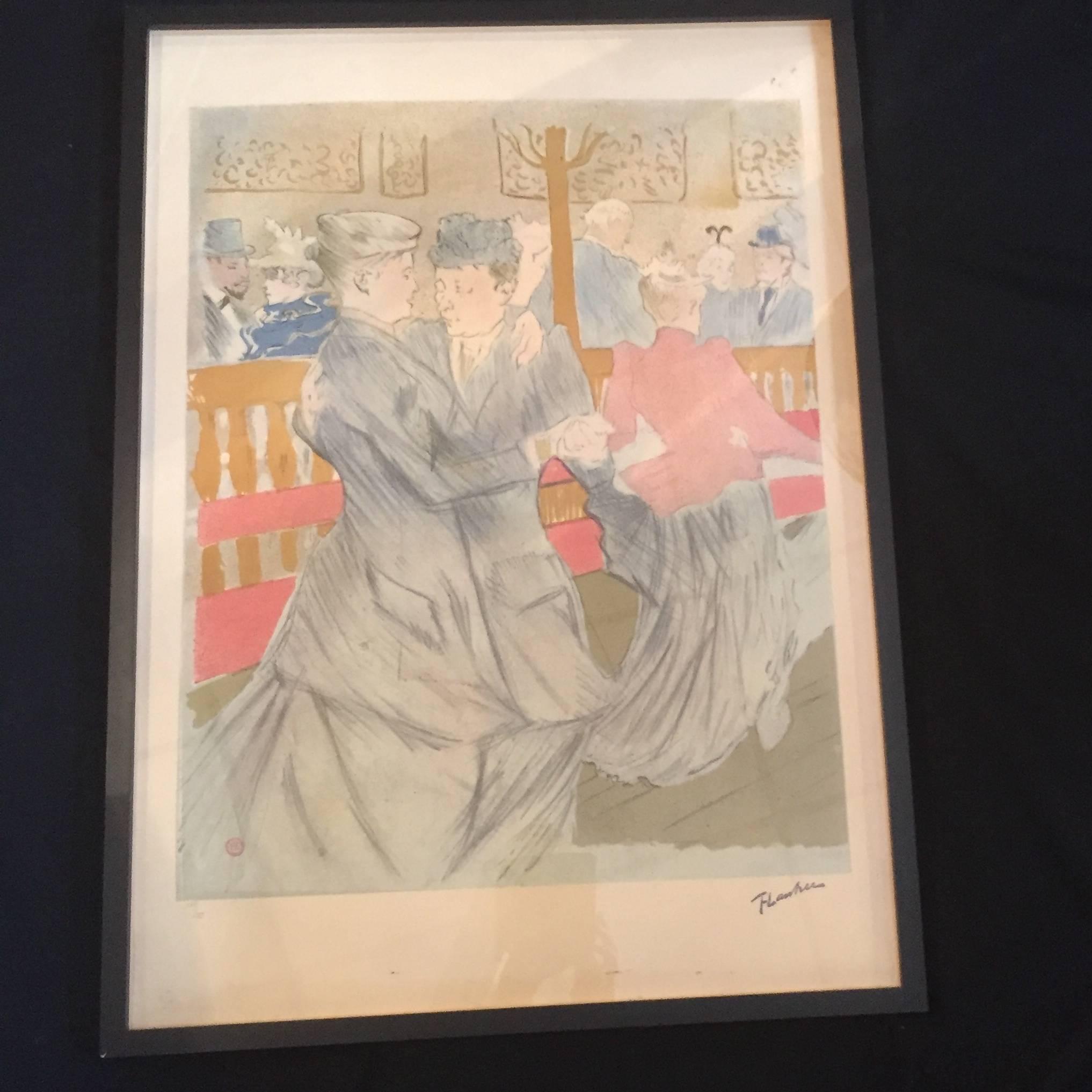 lithographies toulouse Lautrec