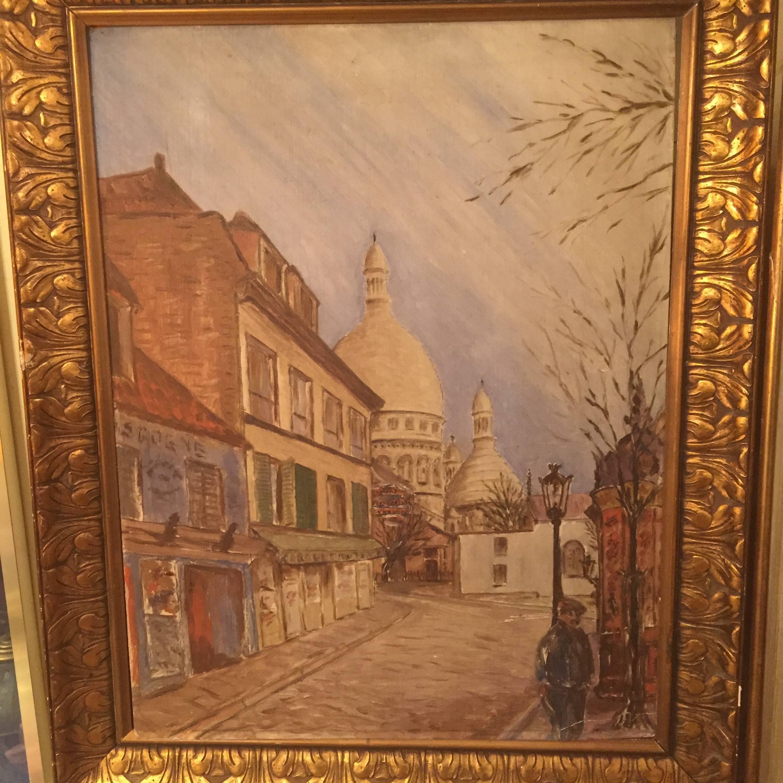 tableau montmartre rue norvins