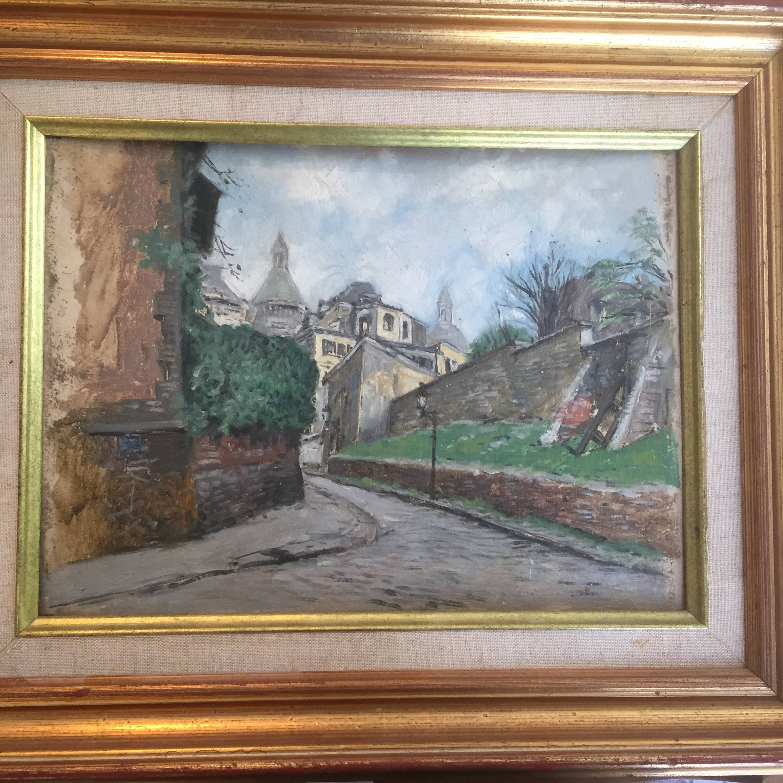 tableau Montmartre